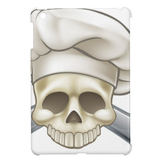 Skull and Crossbones Chef iPad Mini Cases