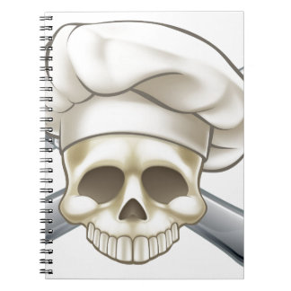 Skull and Crossbones Chef Notebook