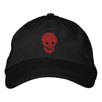 Skull and Crossbones Embroidered Baseball Caps