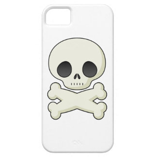 Skull and Crossbones emo kawaii cute goth skulls iPhone 5 Cases