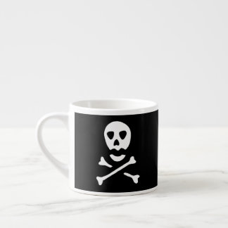 Skull and Crossbones Espresso Cup