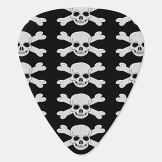 Skull And Crossbones Guitar Pick