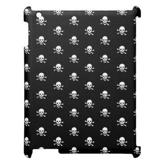 Skull and crossbones iPad case