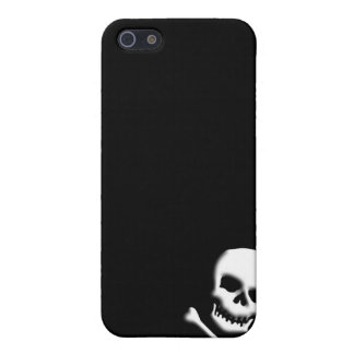 Skull and Crossbones iphone4 Case, Plain iPhone 5 Case