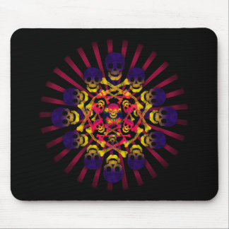 skull and crossbones mouse mat