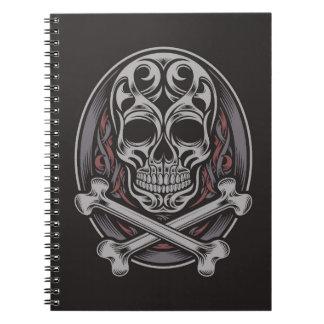 Skull And Crossbones Notebook
