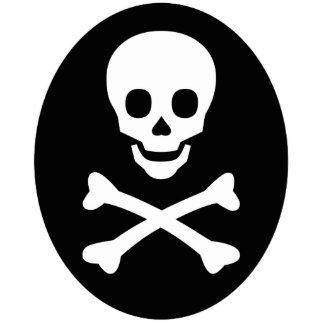 Skull and Crossbones Photo Cutouts