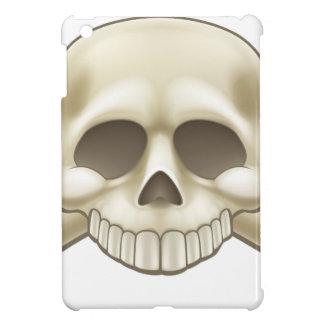Skull and Crossbones Pirate Cartoon iPad Mini Cover