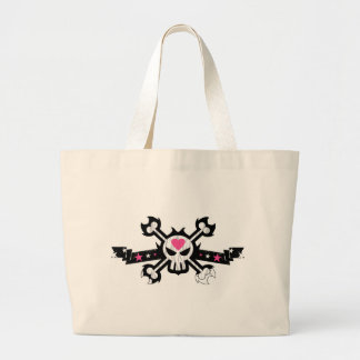 Skull and Crossbones Pirate Tattoo Bags
