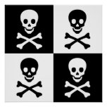 Skull and Crossbones Posters