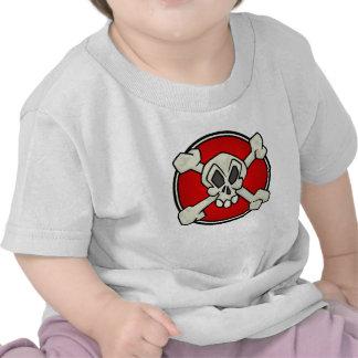 Skull and Crossbones Shirt for Babies