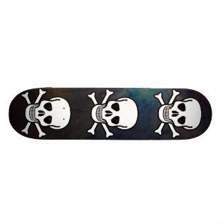 Skull and Crossbones Skate Deck