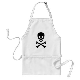 Skull and Crossbones Standard Apron