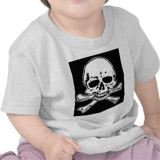 skull and crossbones. tee shirt