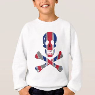 Skull and Crossbones Union Jack Sweatshirt