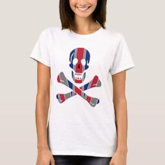 Skull and Crossbones Union Jack T-Shirt