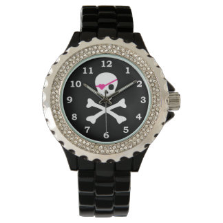 Skull and Crossbones Watch