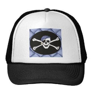 Skull and Crossed Bones Pirate Flag Cap