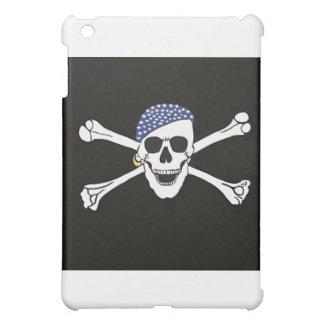 Skull and Crossed Bones Pirate Flag Case For The iPad Mini