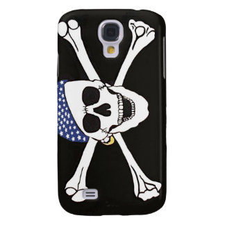 Skull and Crossed Bones Pirate Flag Galaxy S4 Case