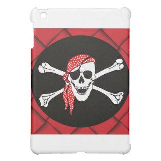 Skull and Crossed Bones Pirate Flag iPad Mini Case