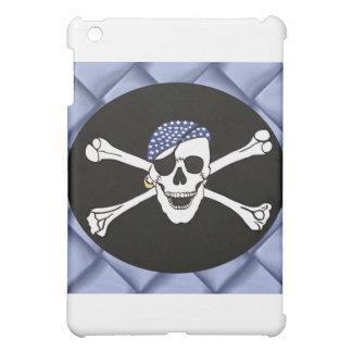 Skull and Crossed Bones Pirate Flag iPad Mini Cover