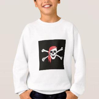 Skull and Crossed Bones Pirate Flag Sweatshirt