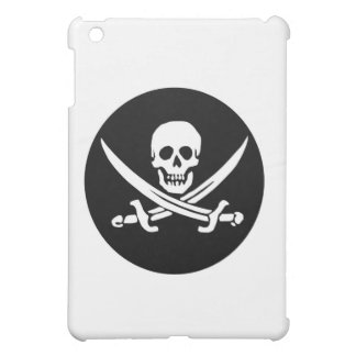 Skull and Crossed Swords Pirate Flag Case For The iPad Mini
