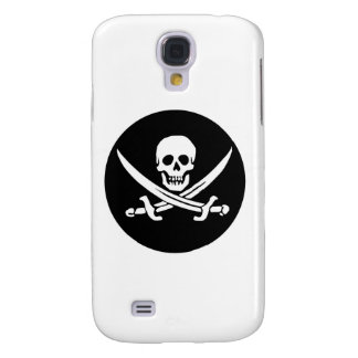 Skull and Crossed Swords Pirate Flag Galaxy S4 Case