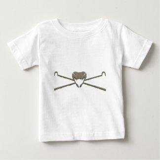 Skull and Crosshooks Baby T-Shirt
