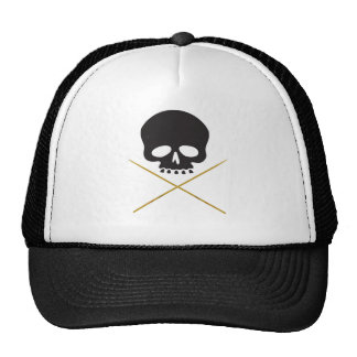 Skull and Drumstick Crossbones Cap