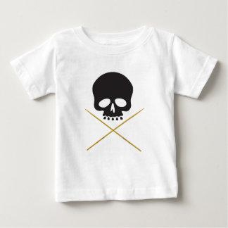 Skull and Drumstick Crossbones Tee Shirts