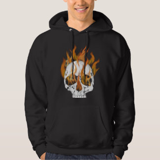 Skull and Fire Hoodie