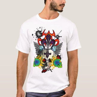Skull and Fleurdelis Shirt