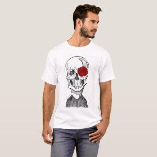 Skull and Flower T-Shirt
