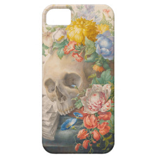 Skull and Flowers iPhone 5 Case