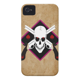 Skull and Guns Tattoo iPhone 4 Covers