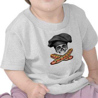 Skull and Hotdogs v3 Shirt