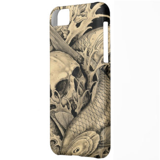 Skull and Koi iPhone 5C Case