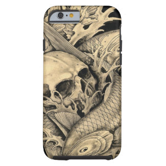 Skull and Koi iPhone 6 Case