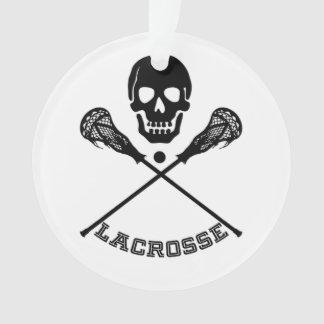 Skull and Lacrosse Sticks
