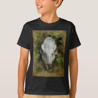 Skull and Leaves T-Shirt
