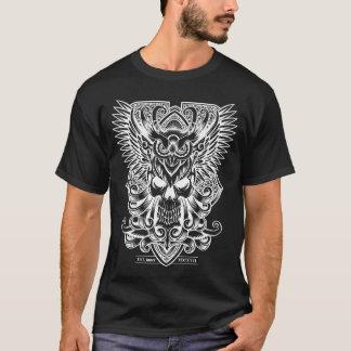 Skull and Owl T-Shirt