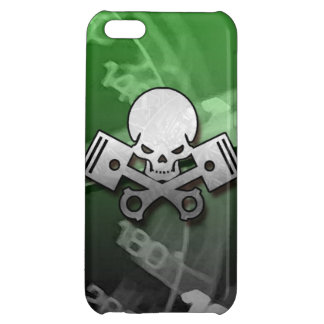 Skull and piston car cool motorcycle muscle car en iPhone 5C case