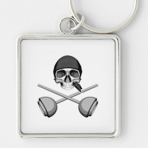 Skull and Plungers Keychains