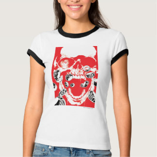 Skull and Rings - Red T-Shirt