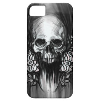 Skull and Roses iPhone 5 Cases