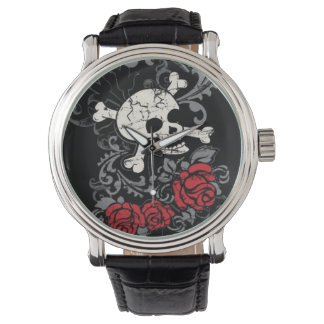 Skull and Roses Watch