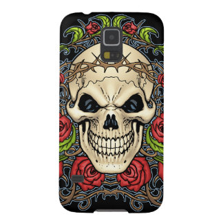 Skull And Roses With Crown Of Thorns By Al Rio Galaxy S5 Case