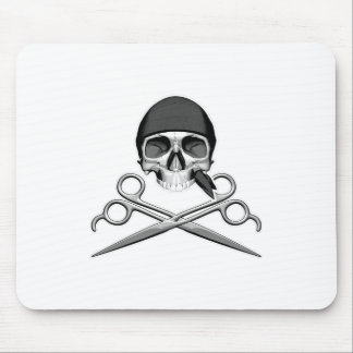 Skull and Scissors v2 Mouse Pads